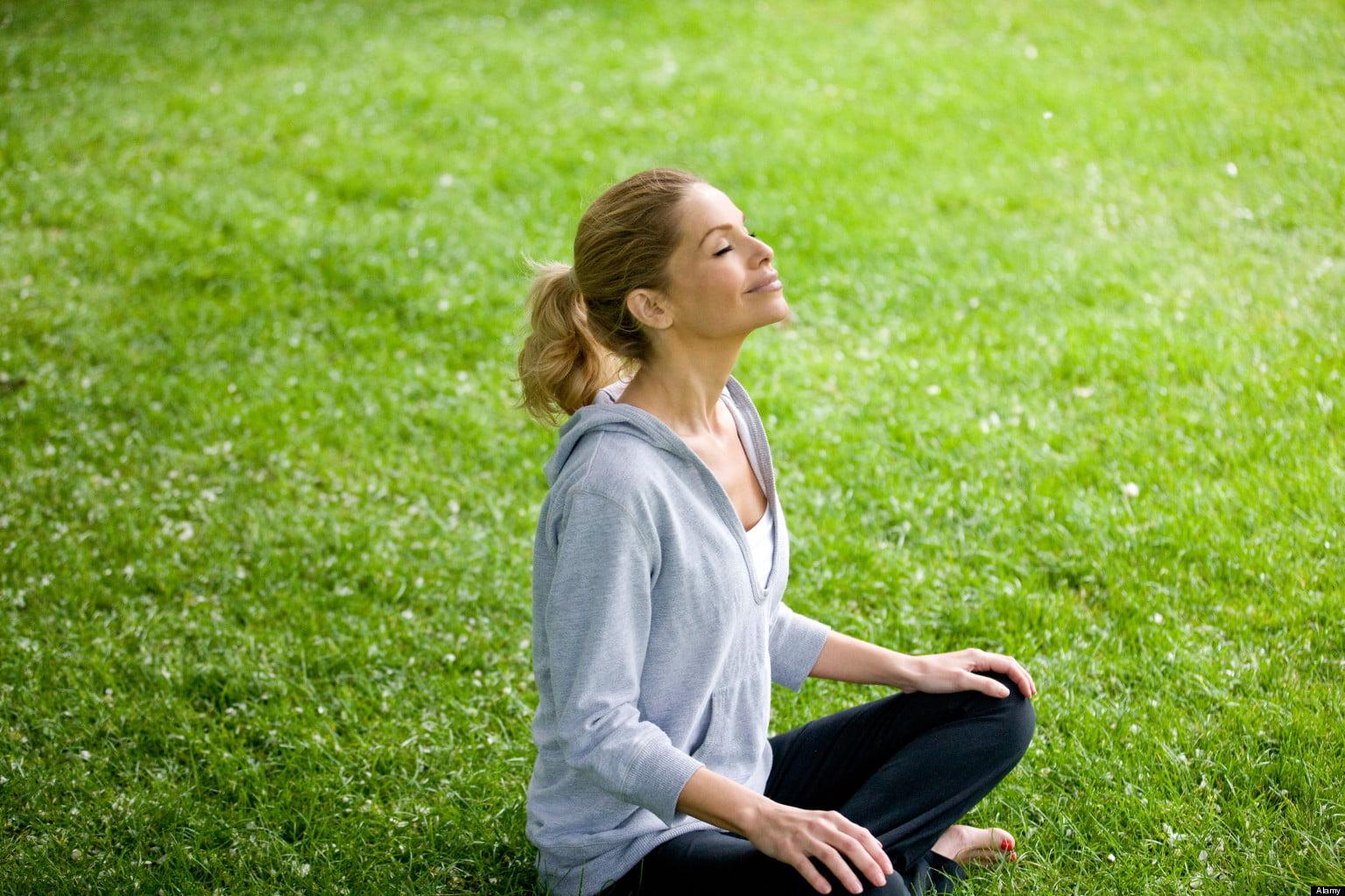 Meditație în natură