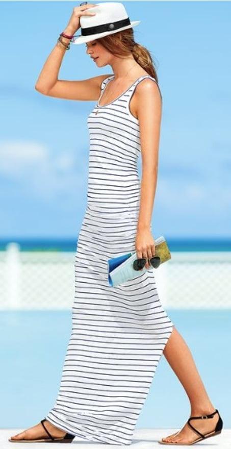 Rochie lungă de plajă, Foto: threegirlsthreecities.com