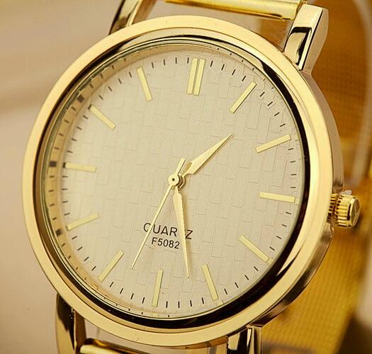 Ceas de lux Quartz pentru femei, Foto: aliexpress.com