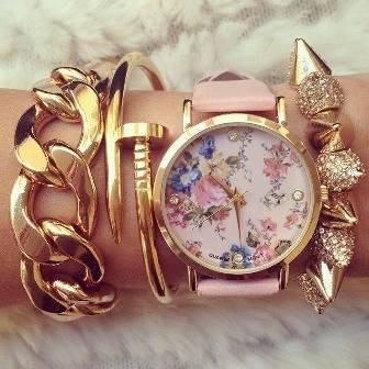 Ceas pentru femei la modă în 2015, Foto: newfashionvogue.com