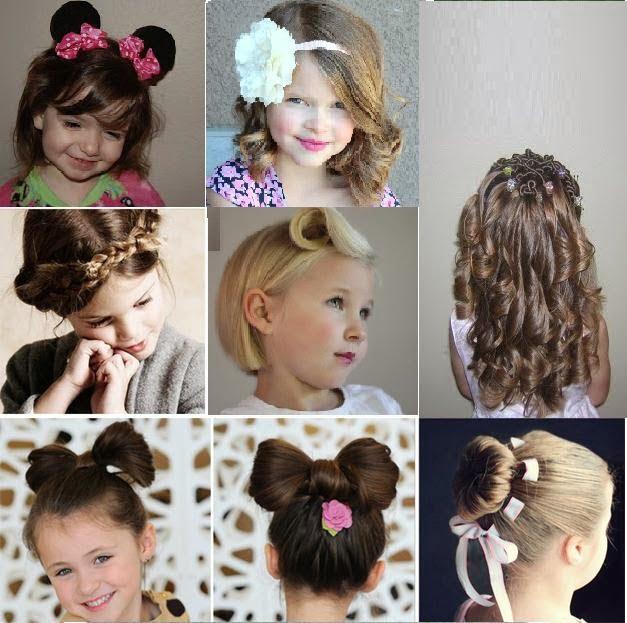 Coafuri pentru fetițe, Foto: coiffurecheveuxcourts.fr