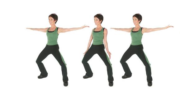 Exerciții T-Tapp pentru menținerea corpului în formă, Foto: intl-media.com