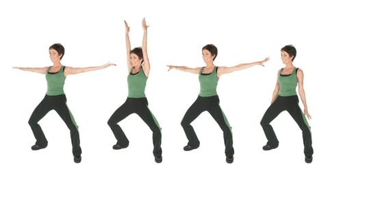 Exerciții T-Tapp pentru menținerea poziției corecte a corpului, Foto: intl-media.com