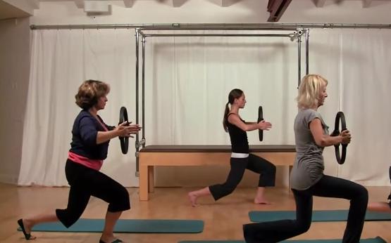 Exercițiu Pilates pentru începători