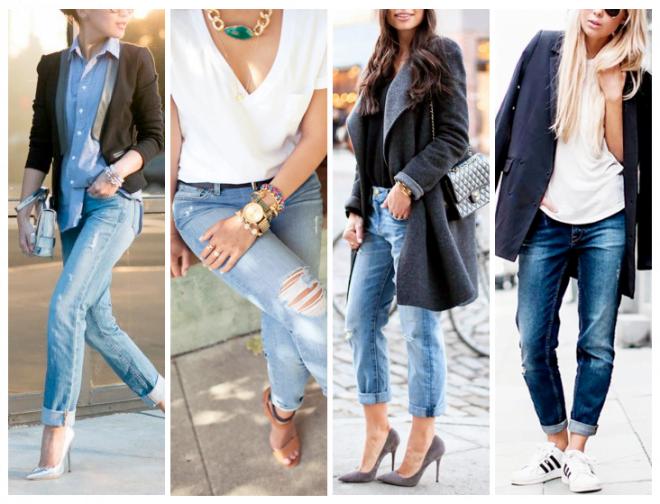 Jeanșii boyfriend eleganți, perfect accesorizați în tendințele modei din acest an, Foto: topshelfclothes.com