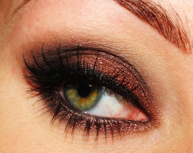 Machiaj bronz-maroniu elegant, Foto: khleej.eddappz.com