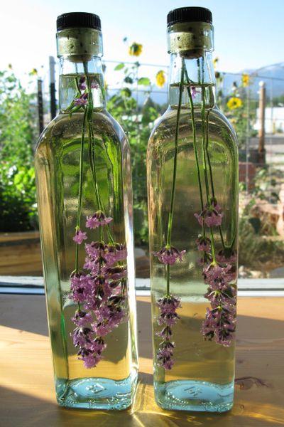 Oțet din flori de lavandă, Foto: susanjtweit.com