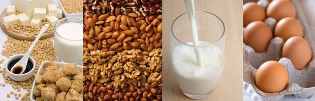 Principalele alimente care provoacă alergii, Foto: biut.cl