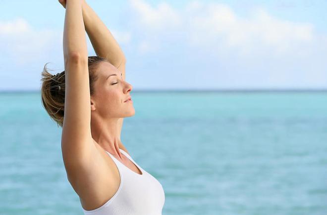 Respirația corectă, profundă ajută în menținerea sănătății, Foto: conseilsdunphysio.com