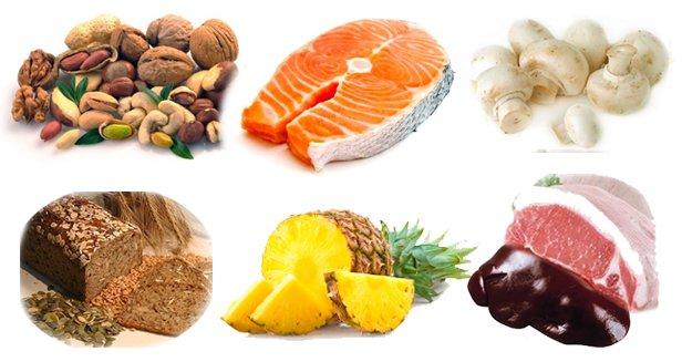 Surse alimentare de vitamina B3, Foto: skrug-nn.ru