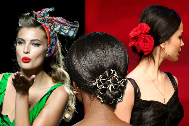 Accesorii de păr Dolce&Gabbana, Foto: fontenews.it