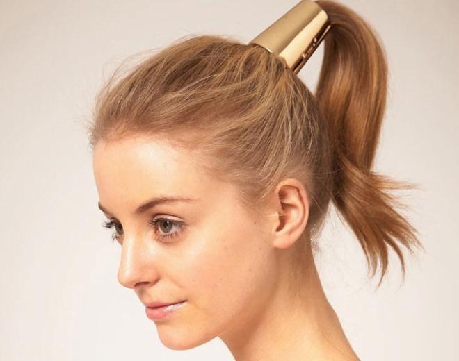 Accesoriu auriu pentru păr, Foto: fr.aliexpress.com