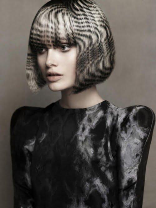 Amprente interesante pe păr care imită coloritul de blană de animale, Foto: trendy.wmj.ru