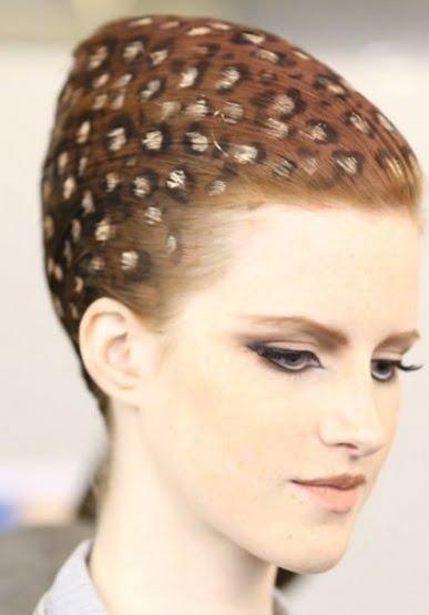 Animal print pentru păr, Foto: parikmaherov.net