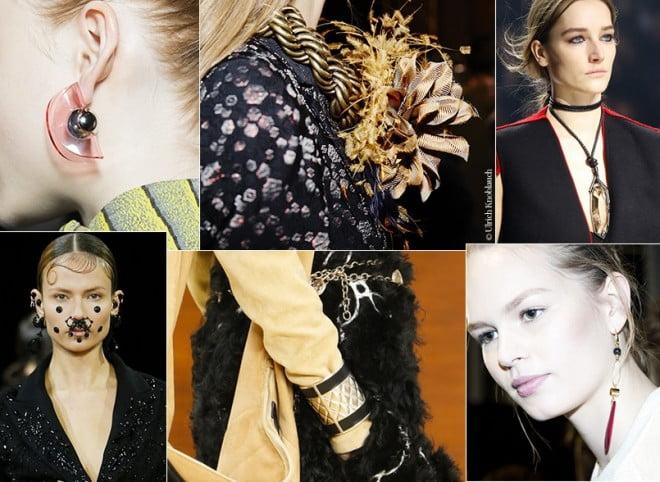 Bijuterii la modă în toamna-iarna anului 2015-2016, Foto: http: en.vogue.fr