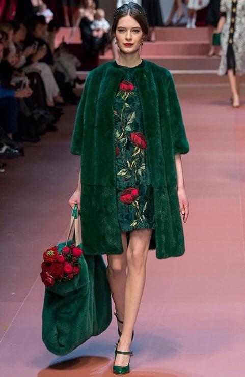 Blană Dolce&Gabbana, Foto: differed.ru