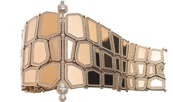 Brățară Hermes din aur cu diamante și safire, Foto: http: en.vogue.fr