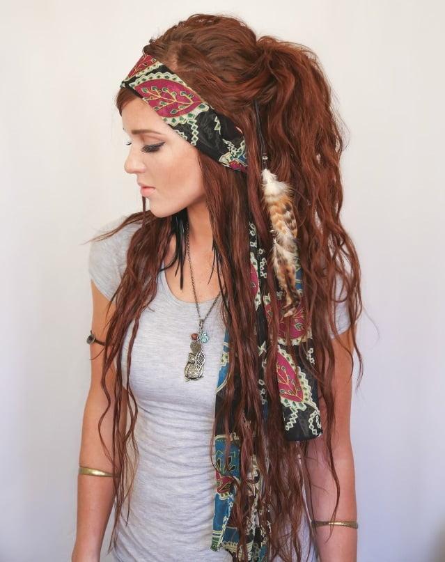 Caofură pentru păr lung, Foto: hair-open.com