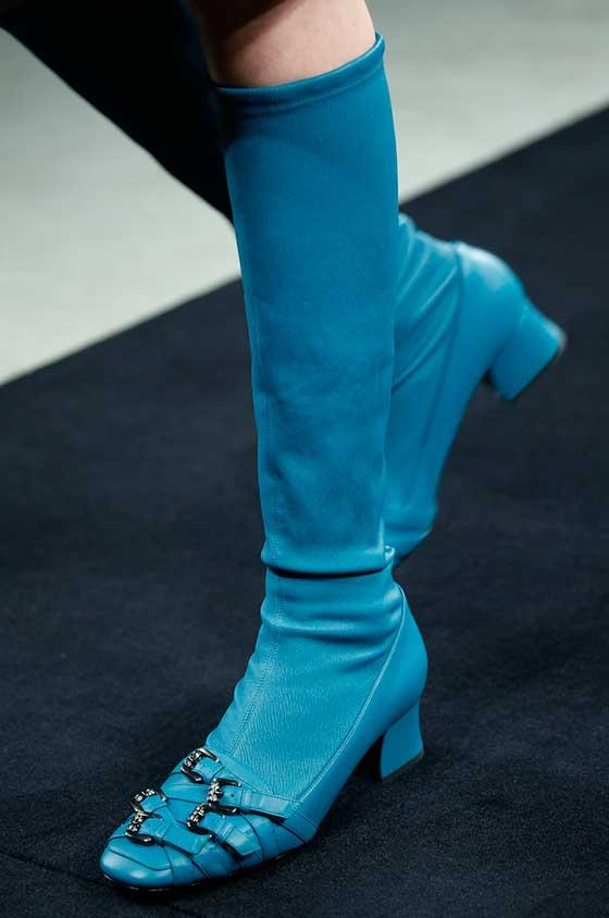 Cizme elegante din piele marca Bottega Veneta, Foto: anazahra.com