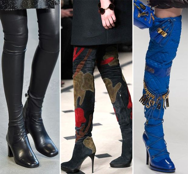 Cizme lungi cu diferite accesorii, Foto: fashionisers.com