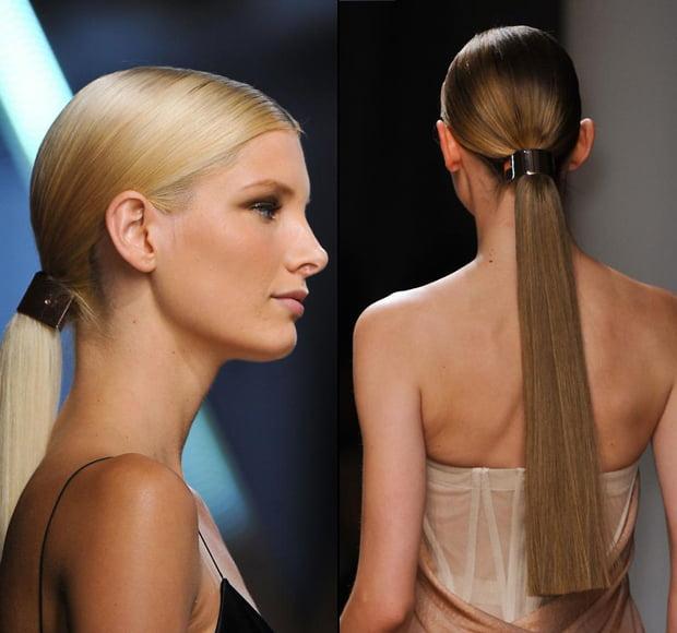 Clame aurii pentru păr, Foto: fashionising.com
