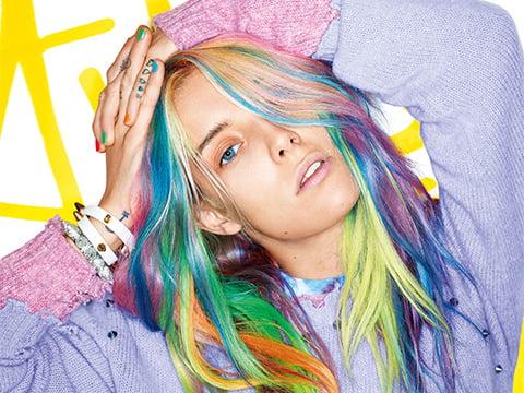 Coafură în tendințele modei din această vară, Foto: couleurs-en-folie.com