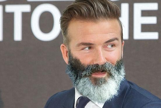 David Beckham cu barbă, Foto: twitter.com
