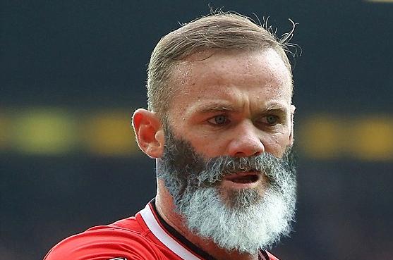 Eayne Rooney cu barbă, Foto: twitter.com