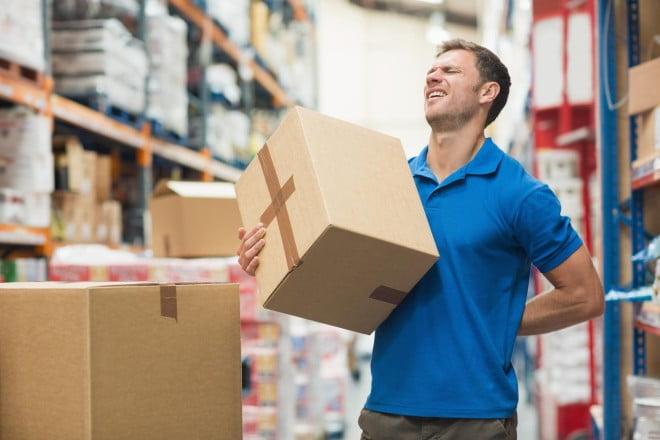 Lucrătorul poștal poate suferi de dureri de spate, Foto: Foto: aiccdc.com