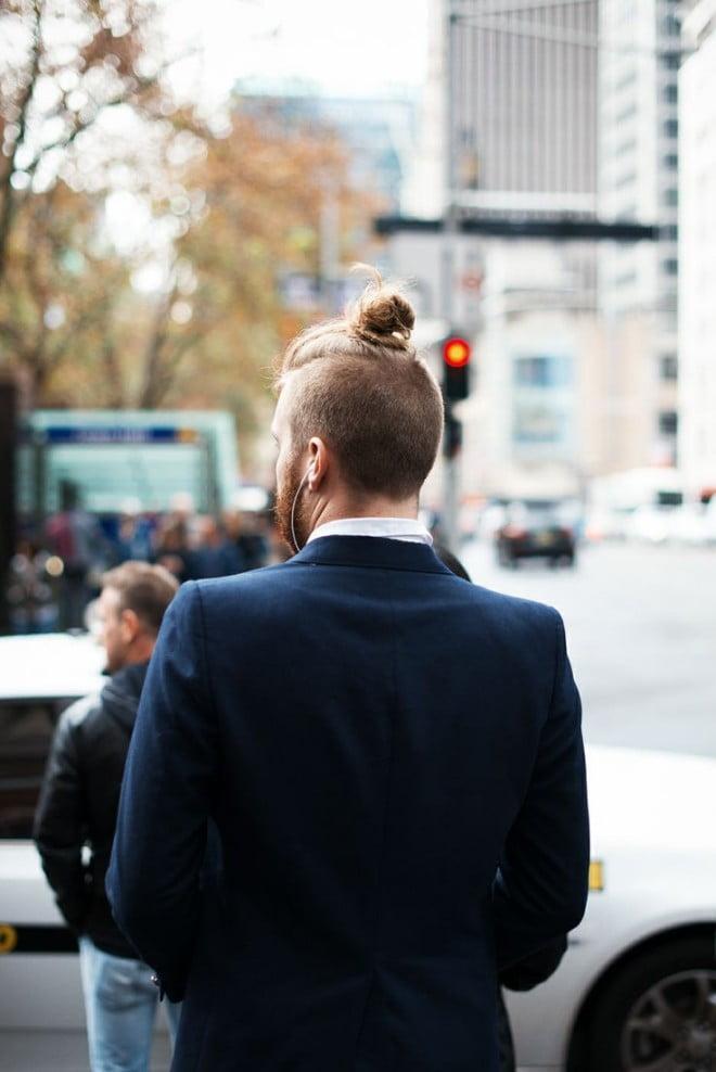 Lumbersexual cu barbă și costum, Foto: thefashiontag.com