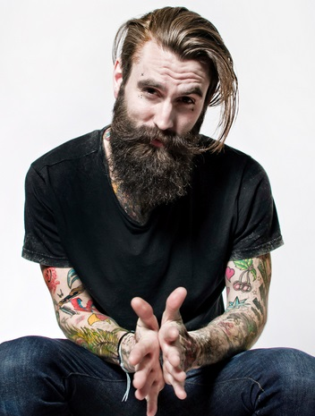 Lumbersexual cu tatuaje, Foto: imgarcade.com