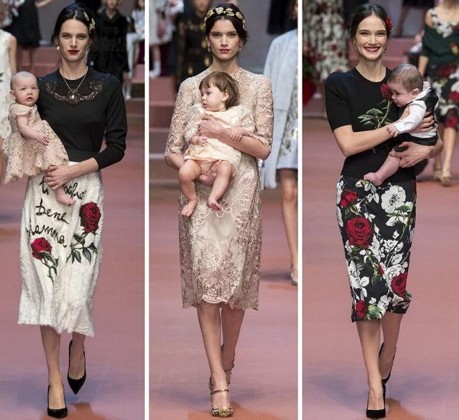Manechine cu bebeluși în brațe, Foto: fashionandme.ru
