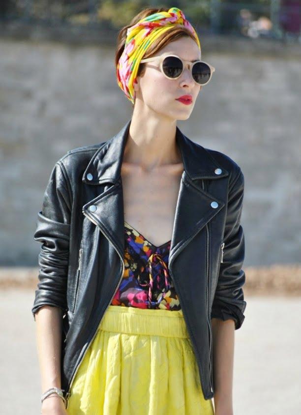 Mod de prindere a eșarfei ca un turban, Foto: babble.com