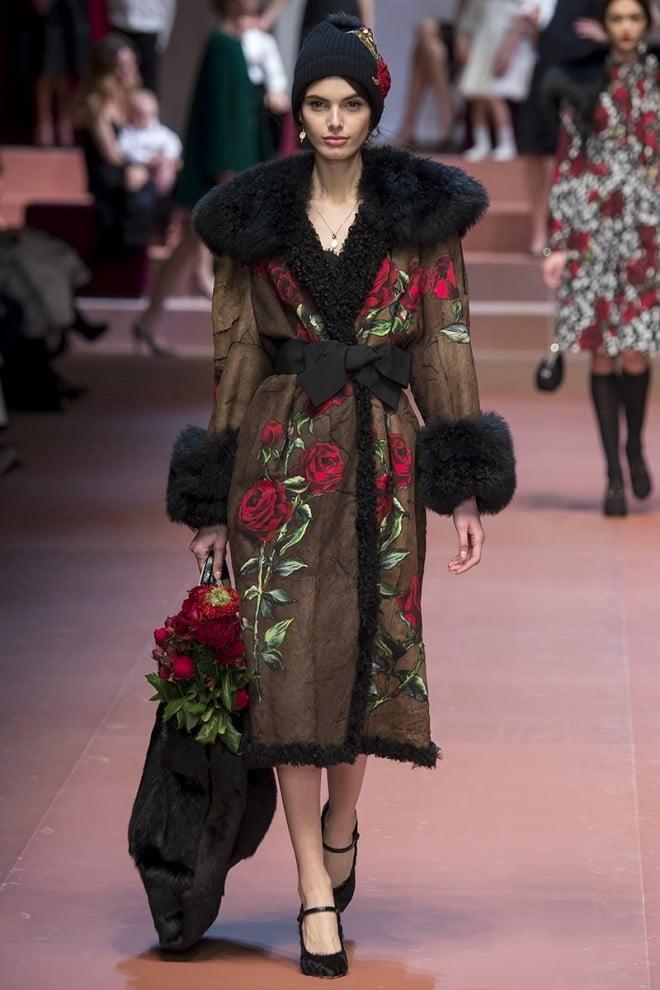 Moda Dolce&Gabbana, Foto: vogue.com