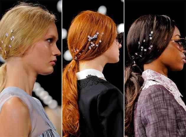 Noi tendințe la accesorii de păr, Foto: allnewhairstyles.com