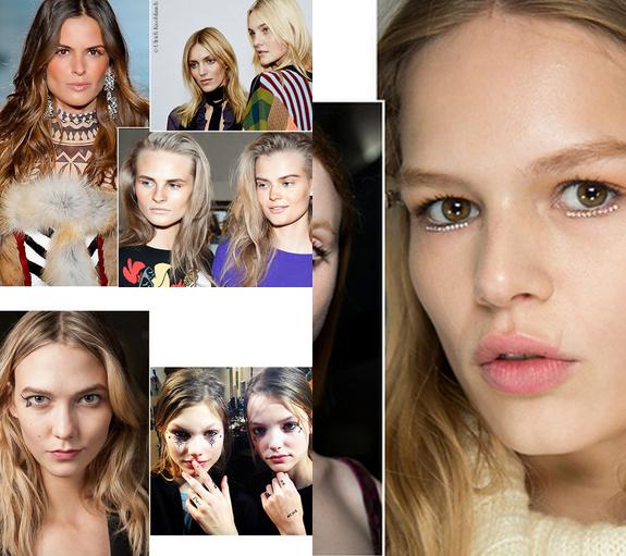 Noi tendințe de make-up pentru toamna-iarna 2015-2016, Foto: flipboard.com