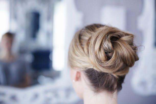 Părul este elegant coafat, Foto: classycathleen.com