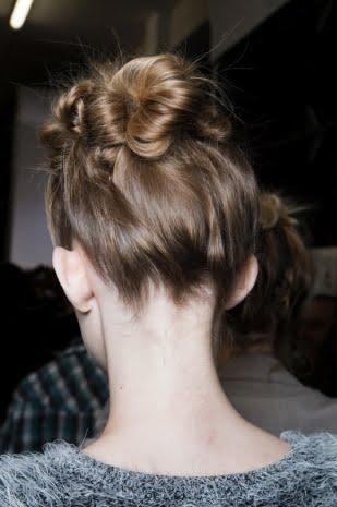 Părul prins în coc, Foto: marieclaire.it