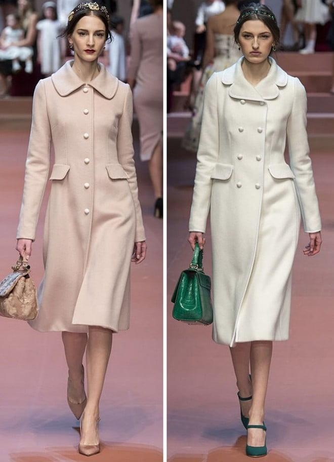 Paltoane elegante, pe talie, care subliniază rafinamentul unei tinere mame, Foto: fashionandme.ru