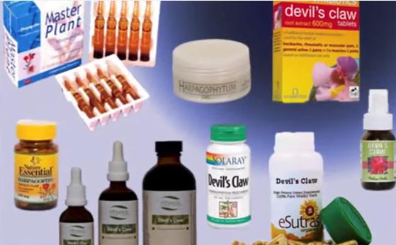 Preparate medicinale din gheara-diavolului