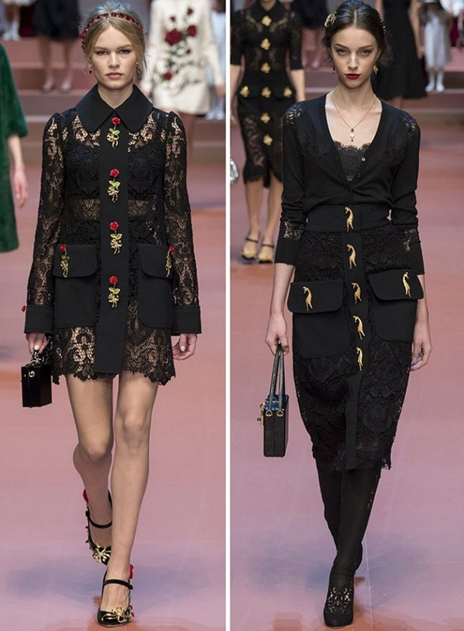 Rochii cu dantelă, Foto: fashionandme.ru