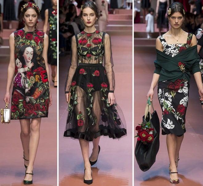 Rochii cu trandafiri, Foto: fashionandme.ru