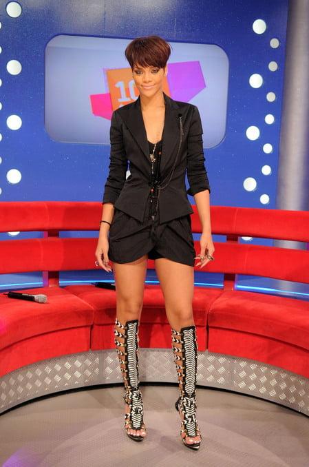 Sandale gladiator elegante la Rihanna, Foto: luxtogo.com