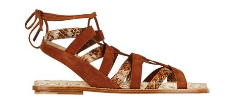 Sandale gladiator, Foto: vogue.com