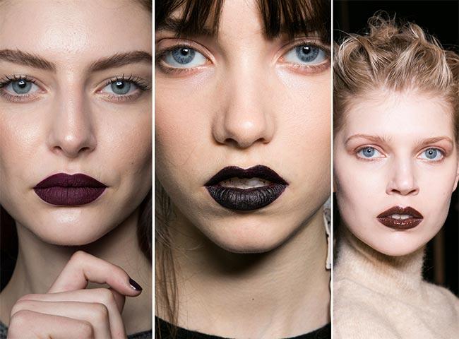 Se poartă rujul negru sau de culoare închisă, Foto: fashionisers.com