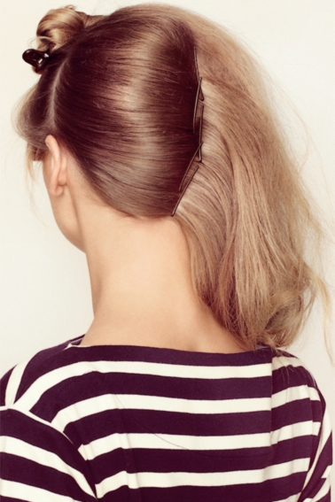 Se prinde părul cu agrafe, Foto: elle.dk