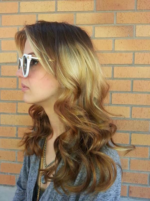 Splashlight, păr ondulat, Foto: women-hair-styles.com