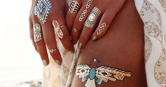 Tatuaje asemănătoare unor bijuterii reale, Foto: glamour.it
