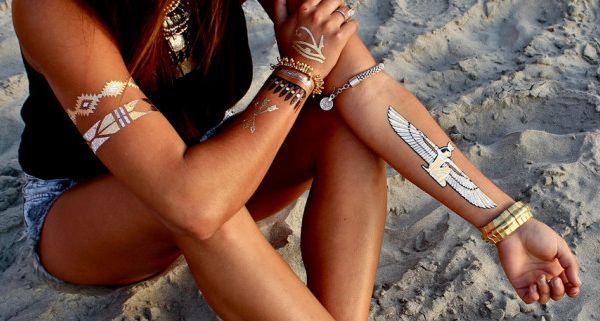 Tatuaje preferate în aceast sezon estival, Foto: modagoda.com