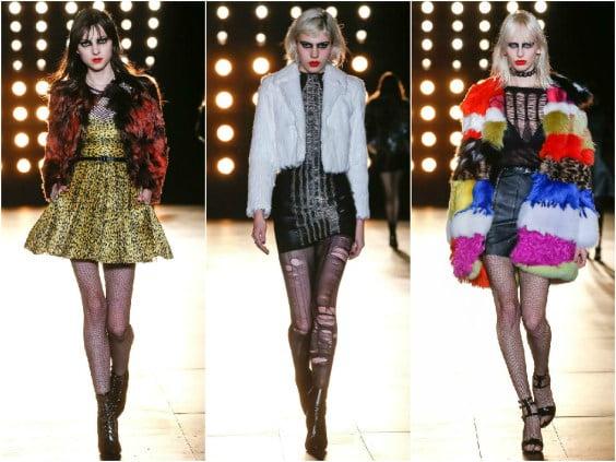 Tendințele modei în colecția Saint Laurent, Foto: contagiousblog.net